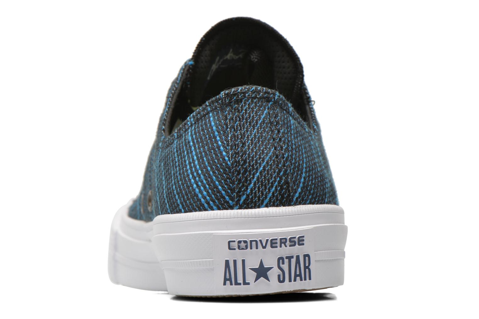 Trainers Converse Chuck Taylor All Star II Ox M Blue view from the right
