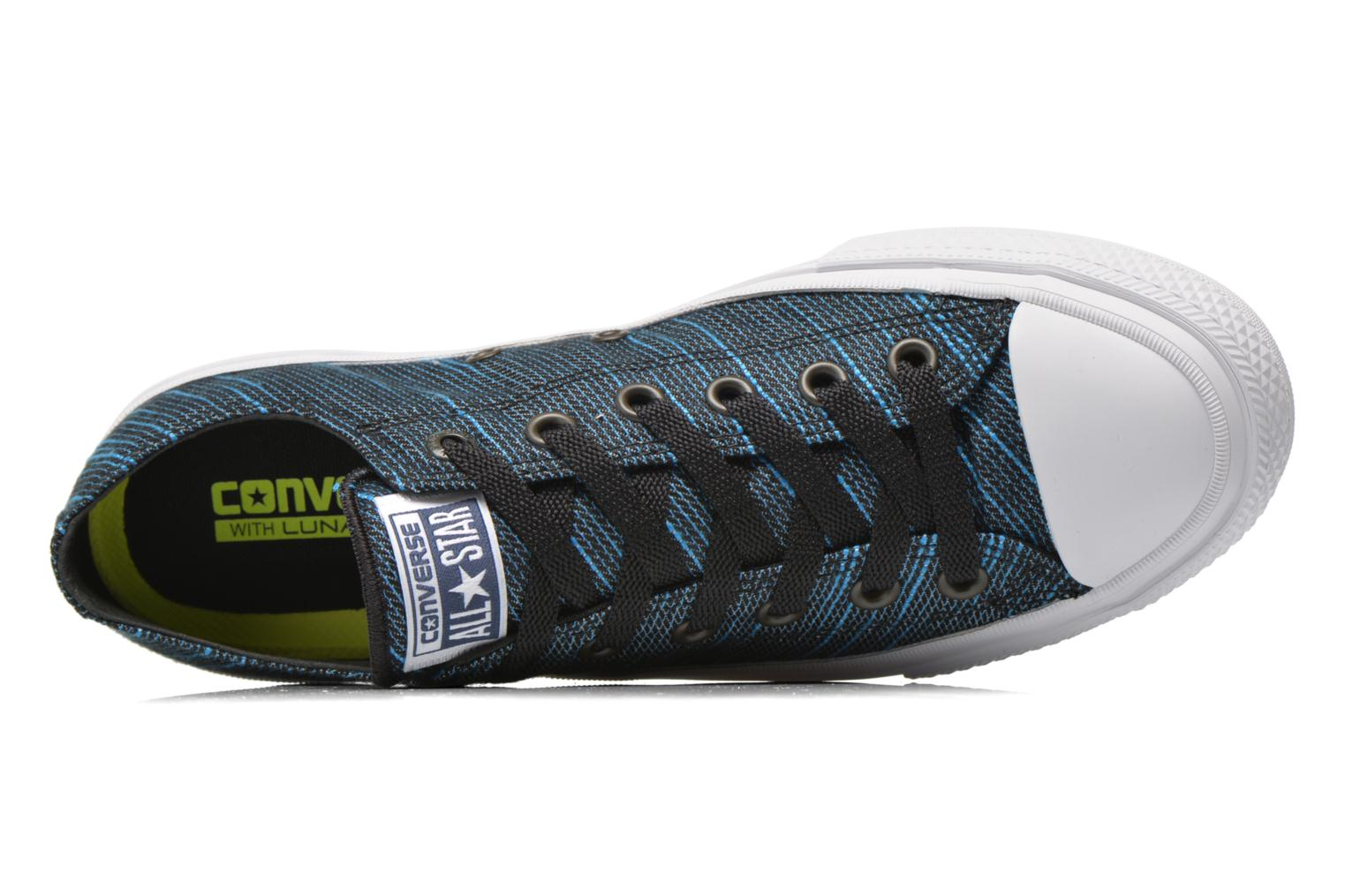Trainers Converse Chuck Taylor All Star II Ox M Blue view from the left