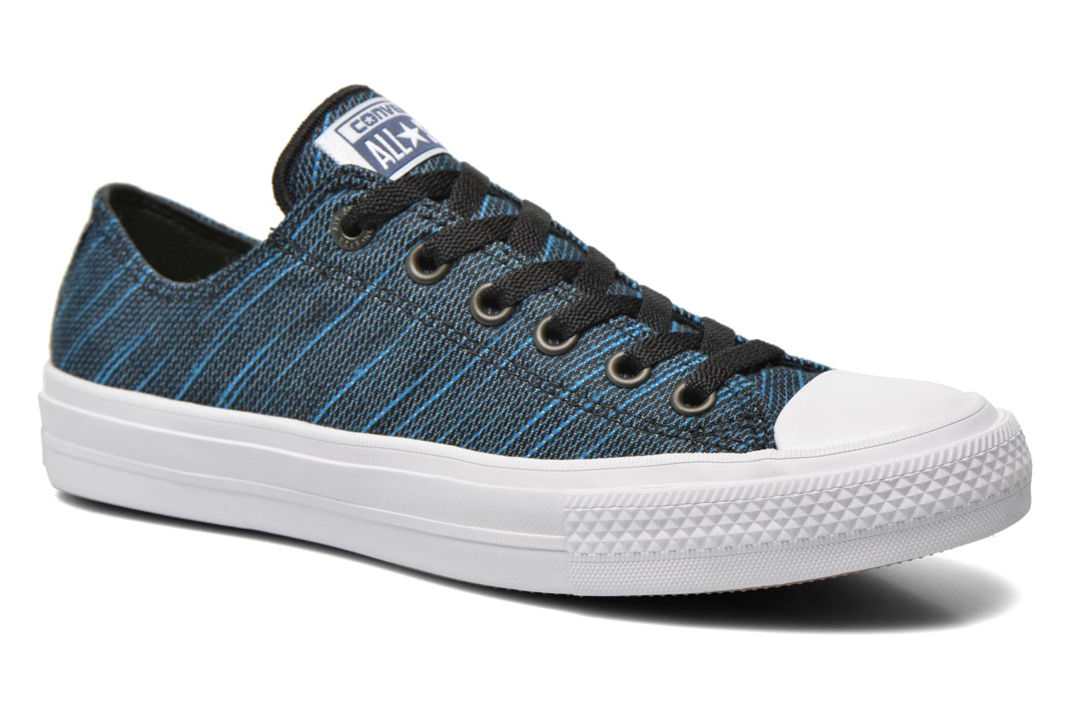 Chuck Taylor All Star II Ox M Black-Spray Paint Blue-White