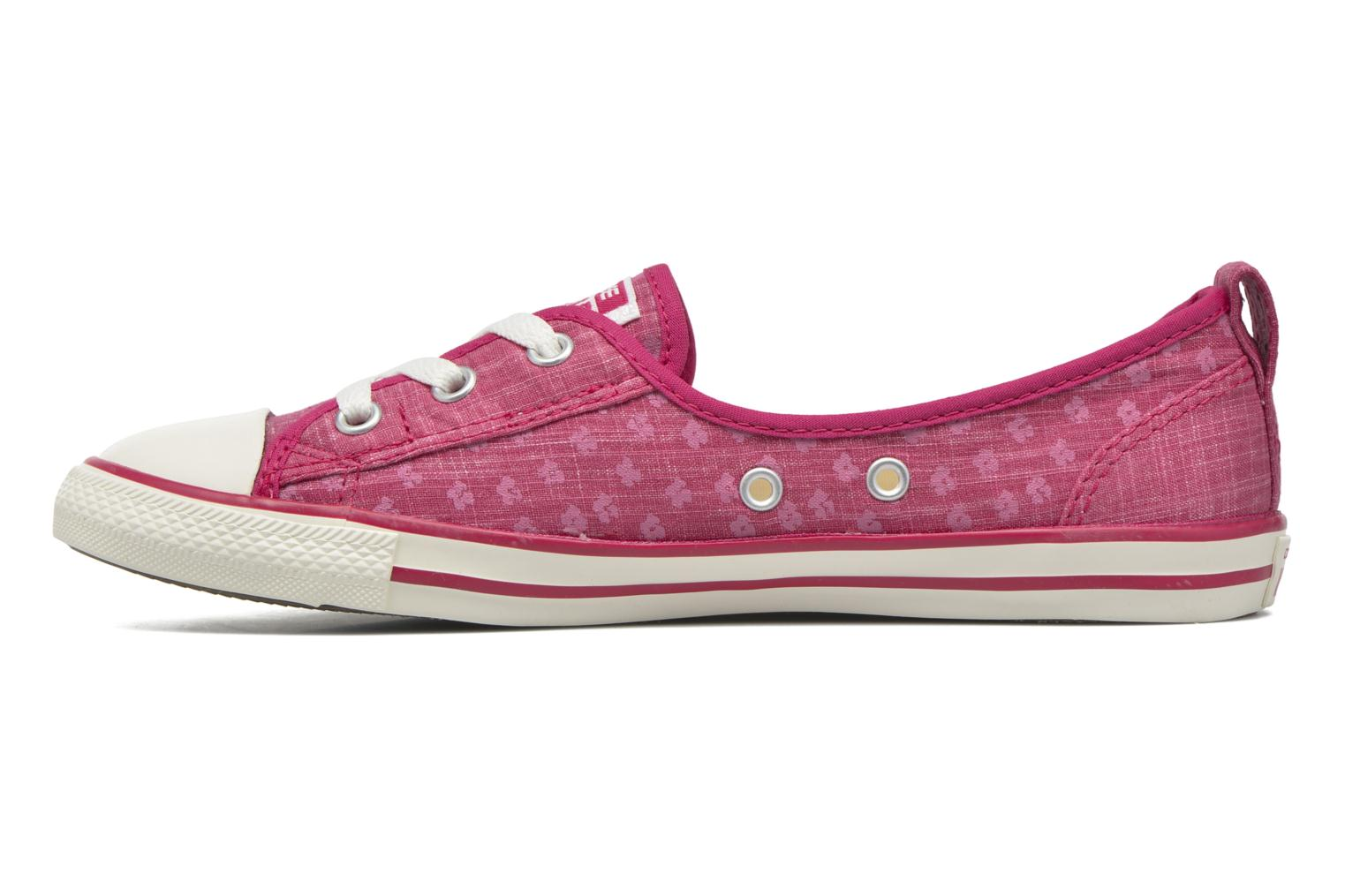 Baskets Converse Chuck Taylor All Star Ballet Lace Rose vue face