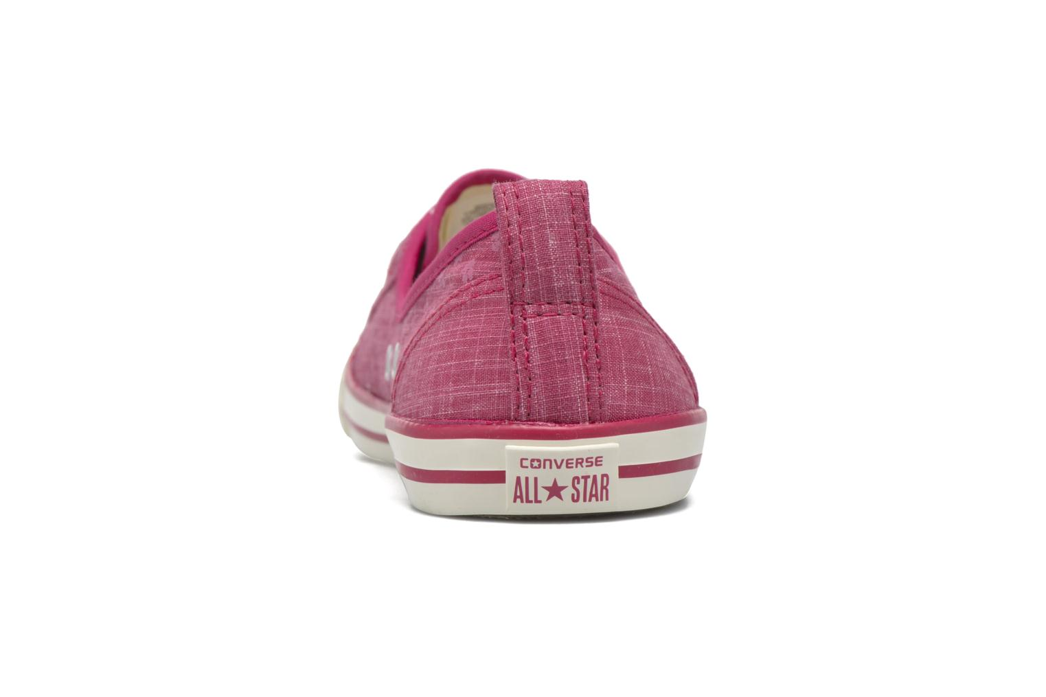 Baskets Converse Chuck Taylor All Star Ballet Lace Rose vue droite