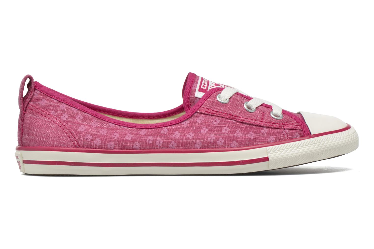Baskets Converse Chuck Taylor All Star Ballet Lace Rose vue derrière
