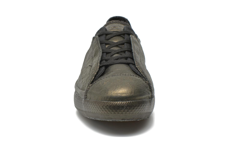 Black/Gold/Black Converse Chuck Taylor All Star Ox Line Shroud W (Noir)