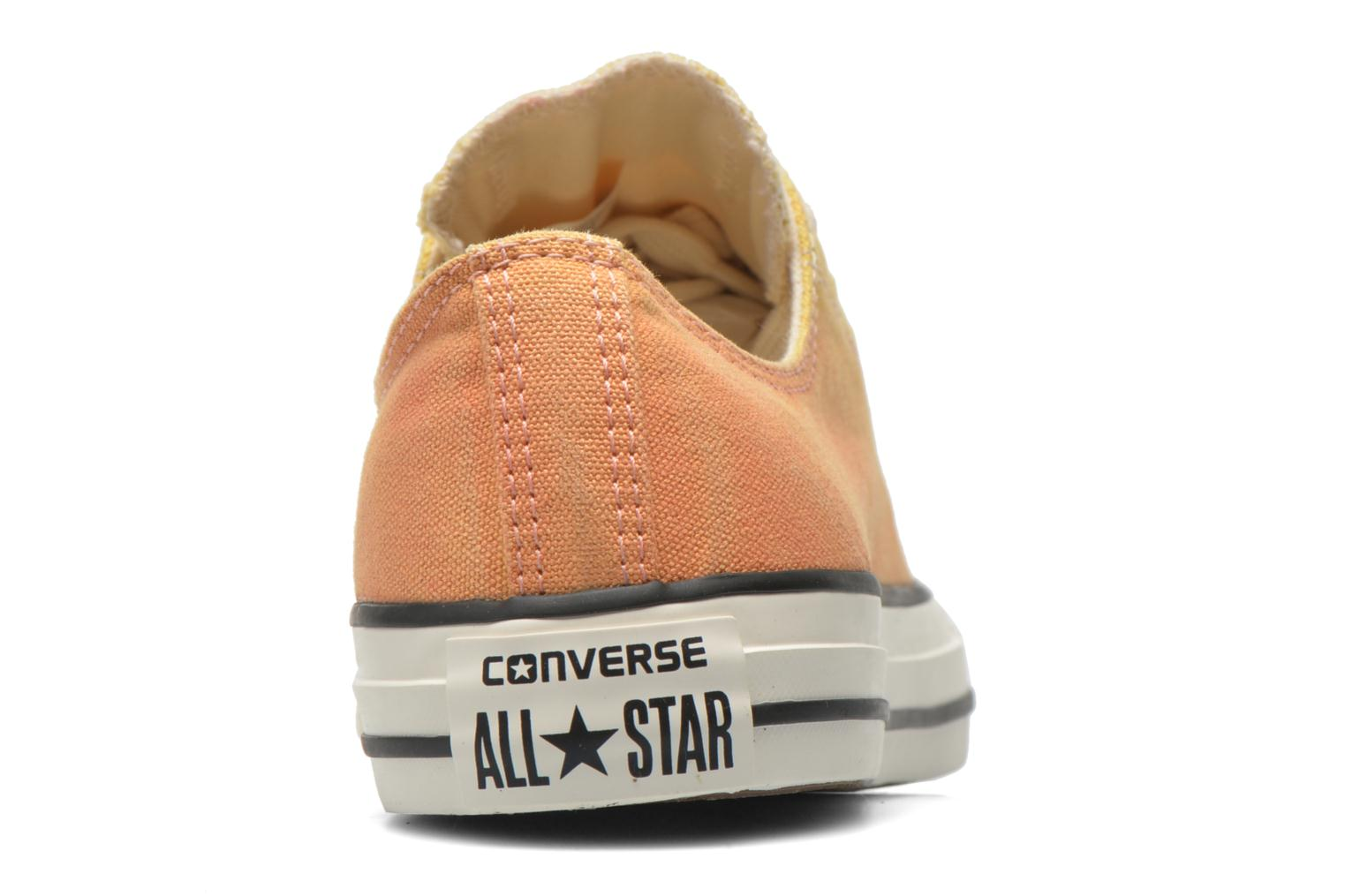 Trainers Converse Chuck Taylor All Star Ox Sunset Wash W Multicolor view from the right