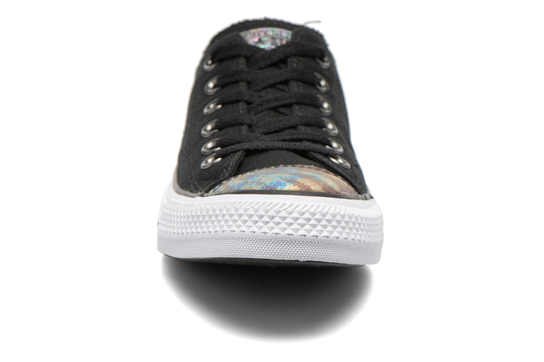 Baskets Converse Chuck Taylor All Star Ox Oil Slick Toe Cap W Noir vue portées chaussures