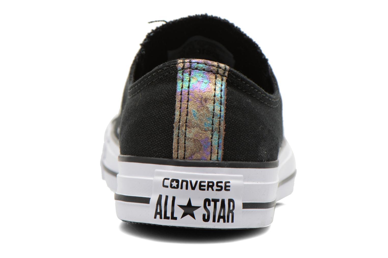 Baskets Converse Chuck Taylor All Star Ox Oil Slick Toe Cap W Noir vue droite