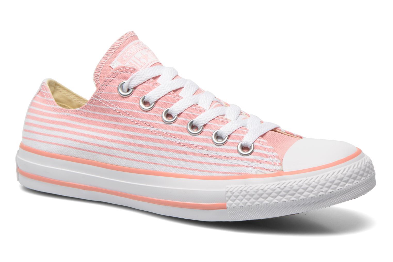 Sneaker Converse Chuck Taylor All Star Ox Seasonal Stripes W rosa detaillierte ansicht/modell