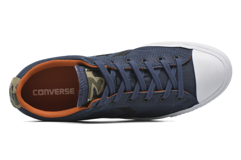 Baskets Converse Star Player Ox M Bleu vue gauche