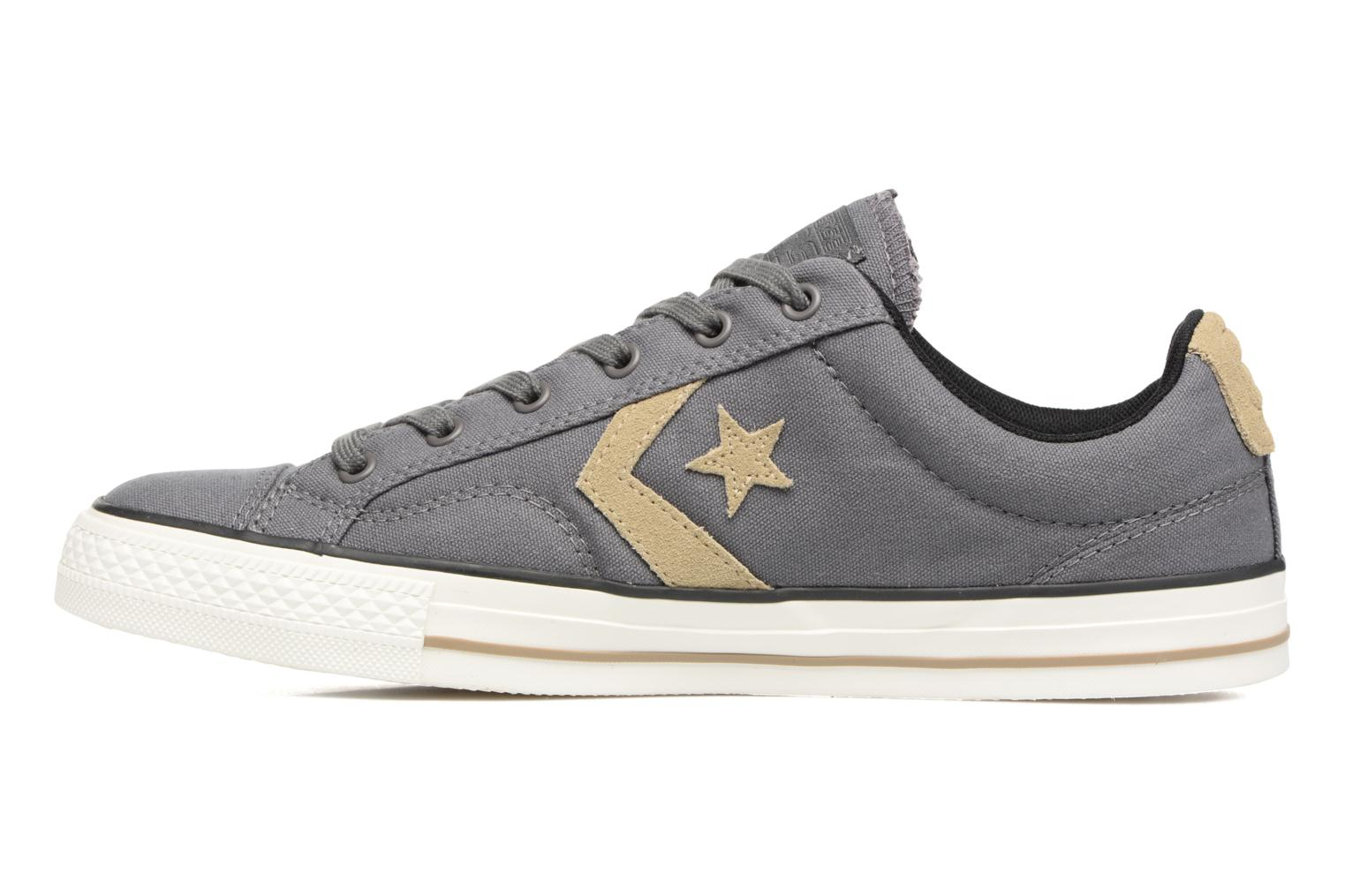 Trainers Converse Star Player Ox M Grey front view