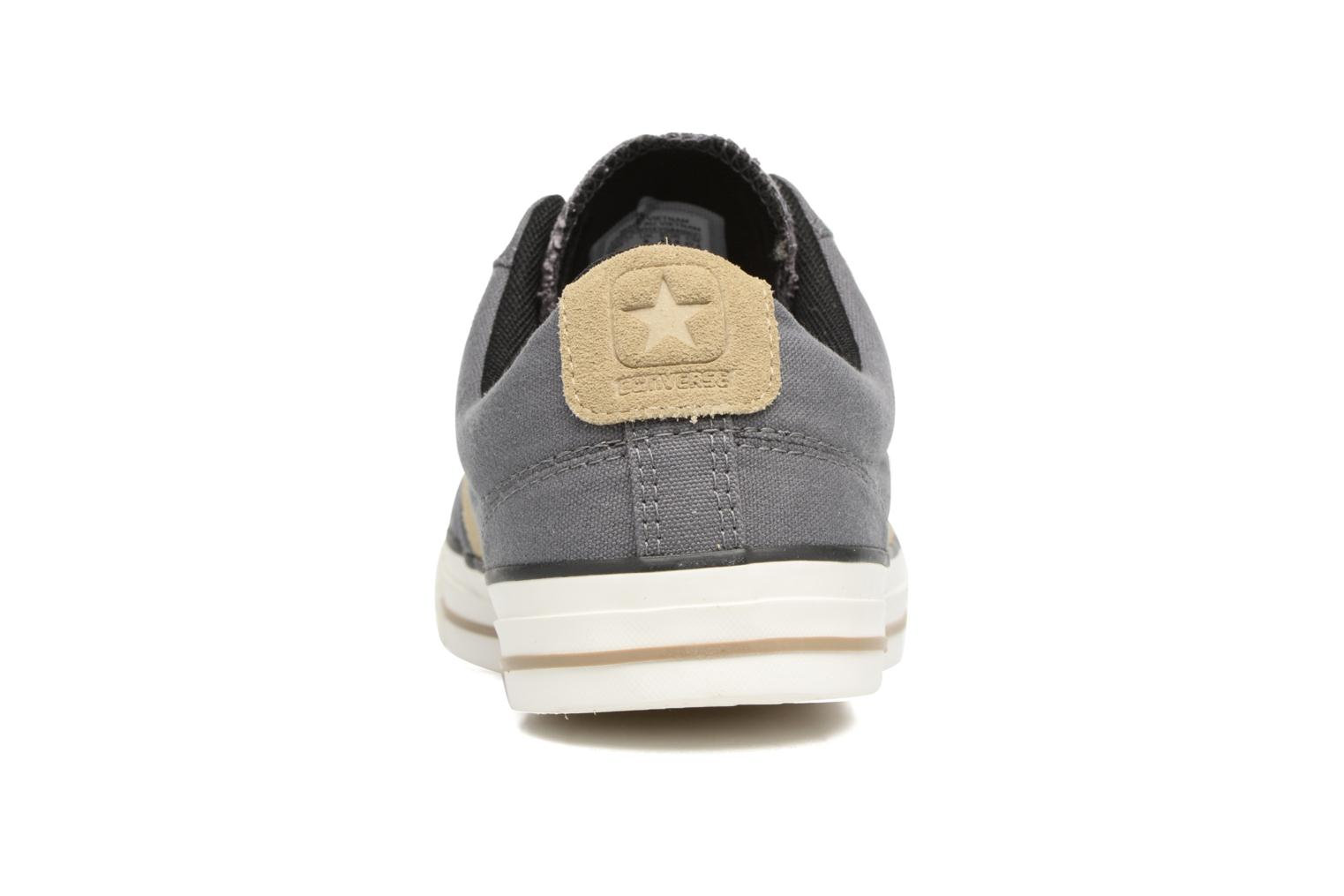 Trainers Converse Star Player Ox M Grey view from the right