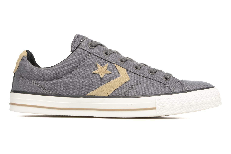 Sneaker Converse Star Player Ox M grau ansicht von hinten