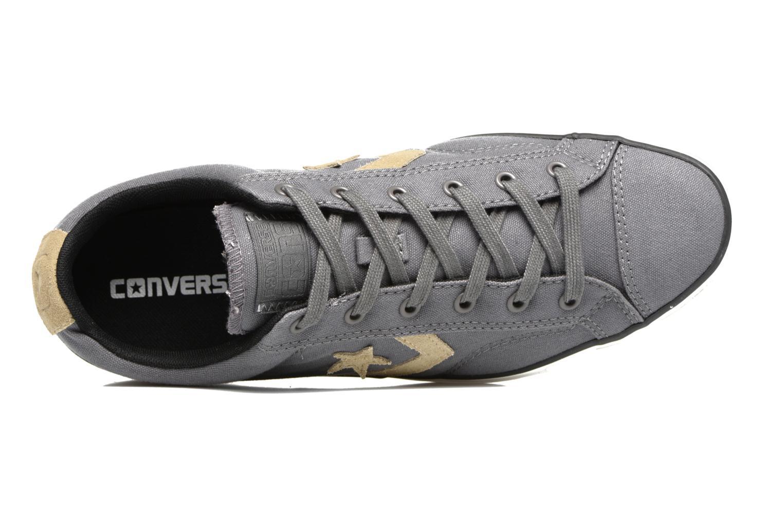 Sneaker Converse Star Player Ox M grau ansicht von links