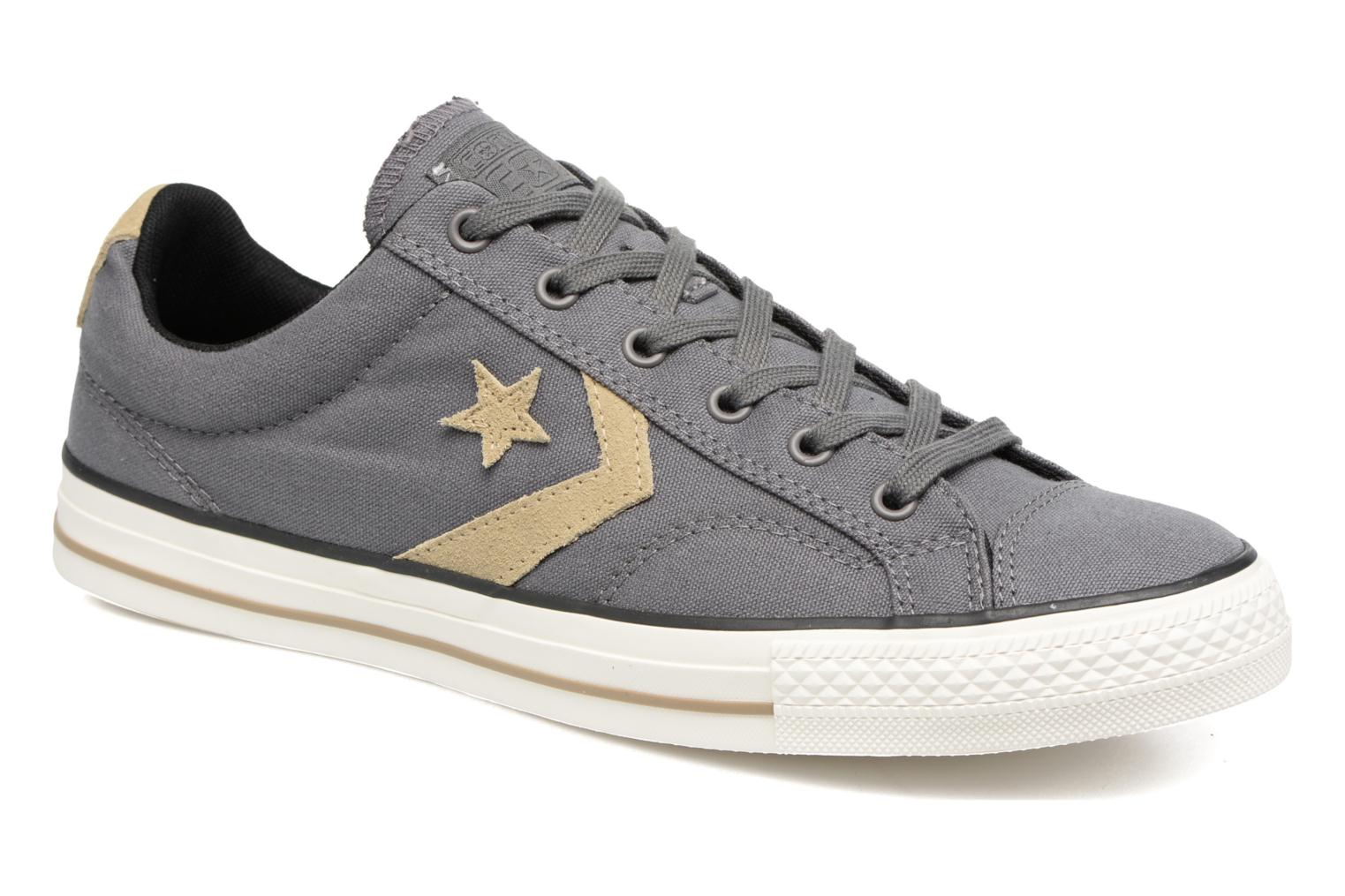 Trainers Converse Star Player Ox M Grey detailed view/ Pair view