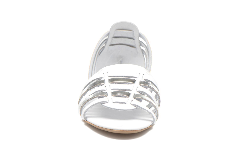 Sandales et nu-pieds I Love Shoes Damuse Blanc vue portées chaussures