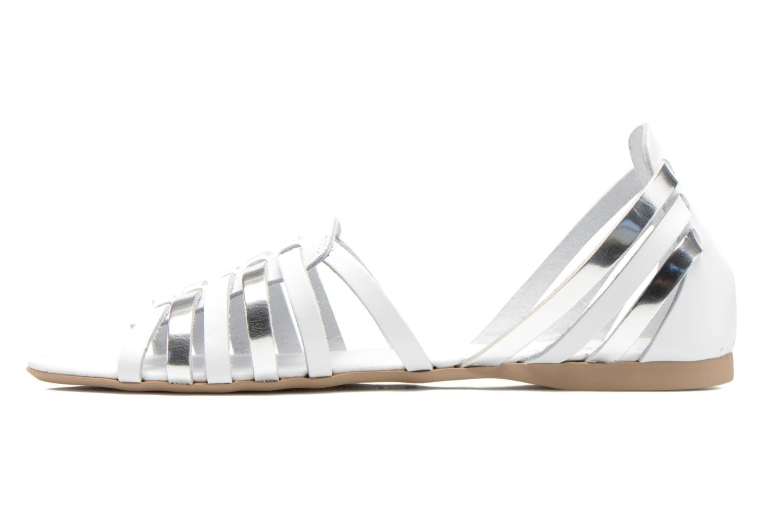 Sandals I Love Shoes Damuse White front view