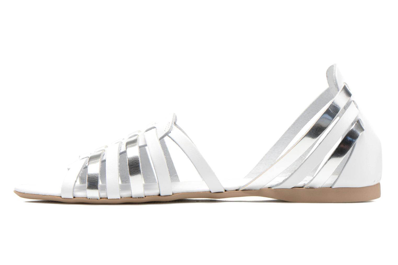 Sandales et nu-pieds I Love Shoes Damuse Blanc vue face