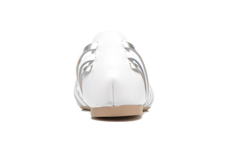 Sandales et nu-pieds I Love Shoes Damuse Blanc vue droite