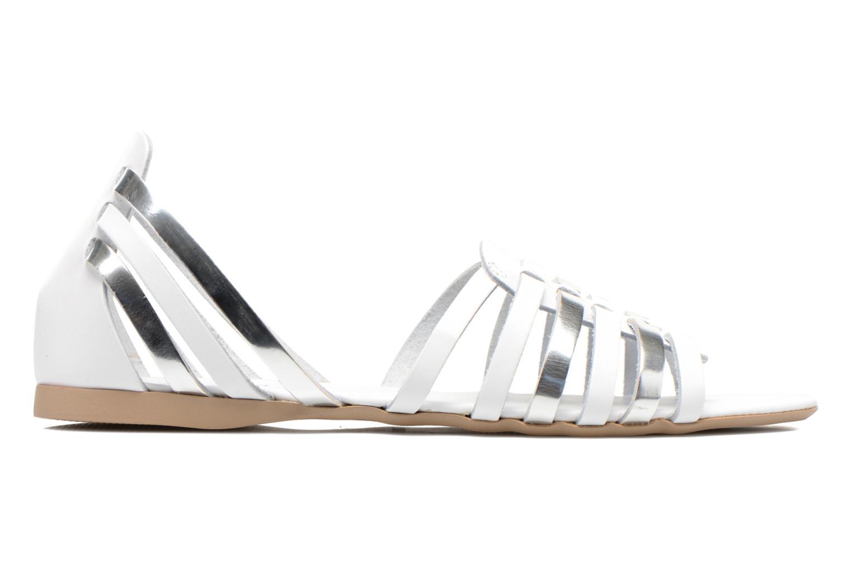 Sandales et nu-pieds I Love Shoes Damuse Blanc vue derrière