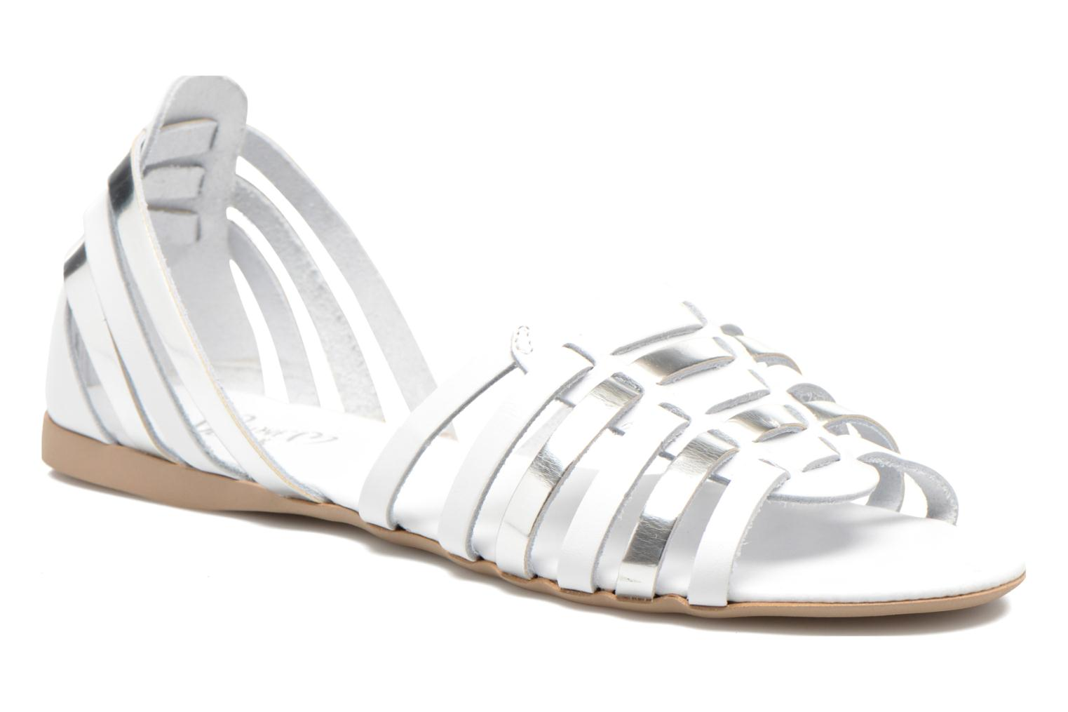 Sandals I Love Shoes Damuse White detailed view/ Pair view