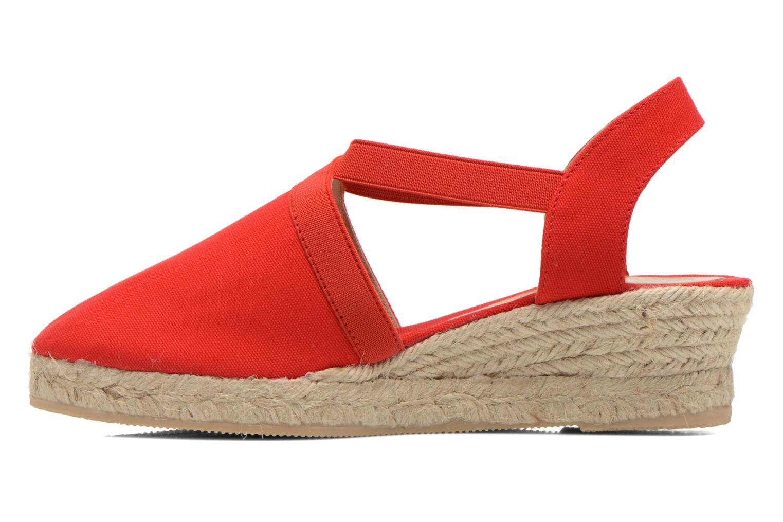 Sandales et nu-pieds Georgia Rose Dalik Rouge vue face