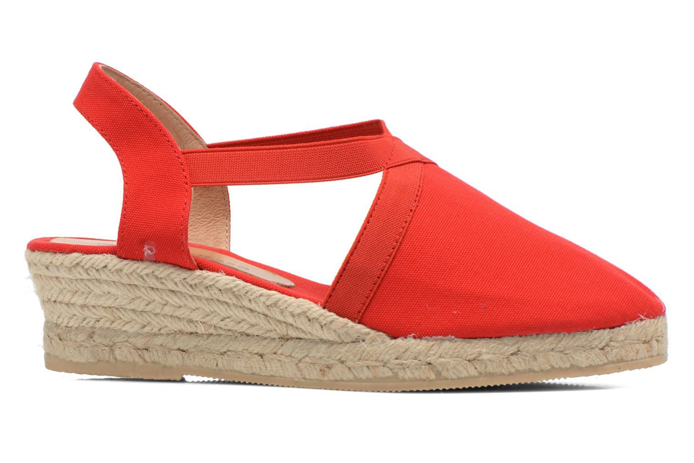 Sandales et nu-pieds Georgia Rose Dalik Rouge vue derrière