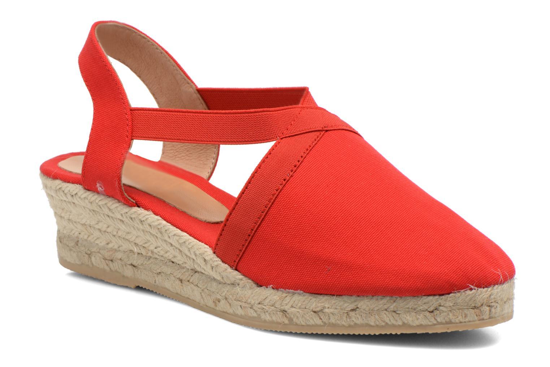 Sandales et nu-pieds Georgia Rose Dalik Rouge vue détail/paire