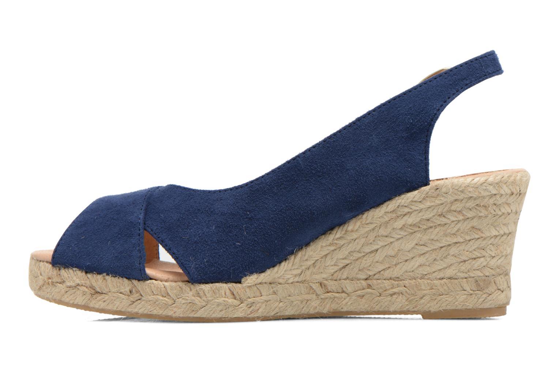 Sandales et nu-pieds Georgia Rose Daloup Bleu vue face