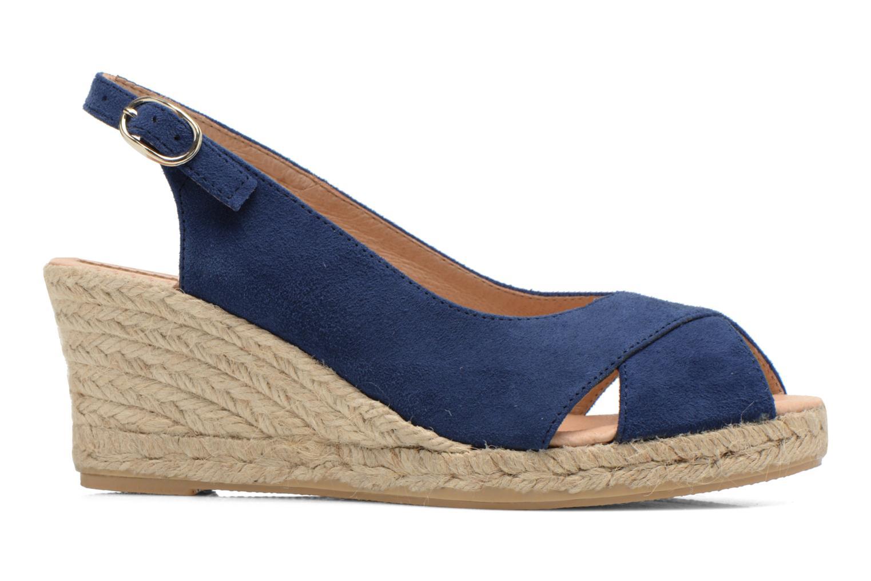 Sandales et nu-pieds Georgia Rose Daloup Bleu vue derrière