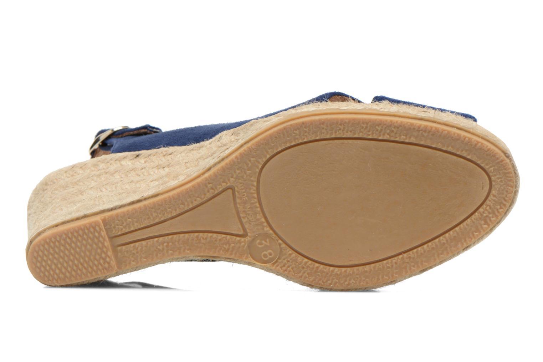 Sandales et nu-pieds Georgia Rose Daloup Bleu vue haut