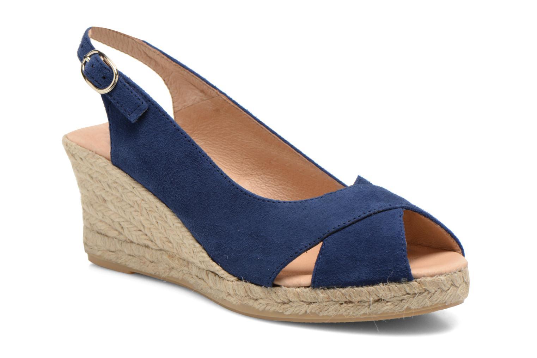Sandales et nu-pieds Georgia Rose Daloup Bleu vue détail/paire
