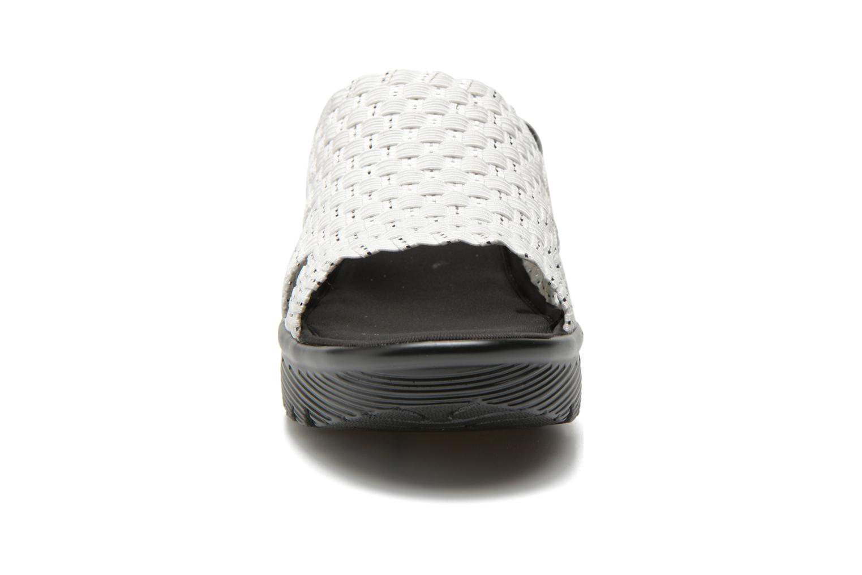 Zuecos Skechers Parallel - Milk & Honey 38458 Blanco vista del modelo