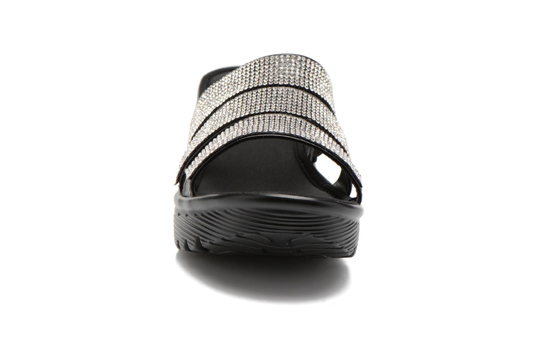 Clogs & Pantoletten Skechers Parallel - Sparkle Eyes 38462 schwarz schuhe getragen