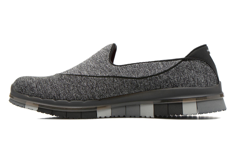 Sport shoes Skechers Go Flex 14010 Black front view
