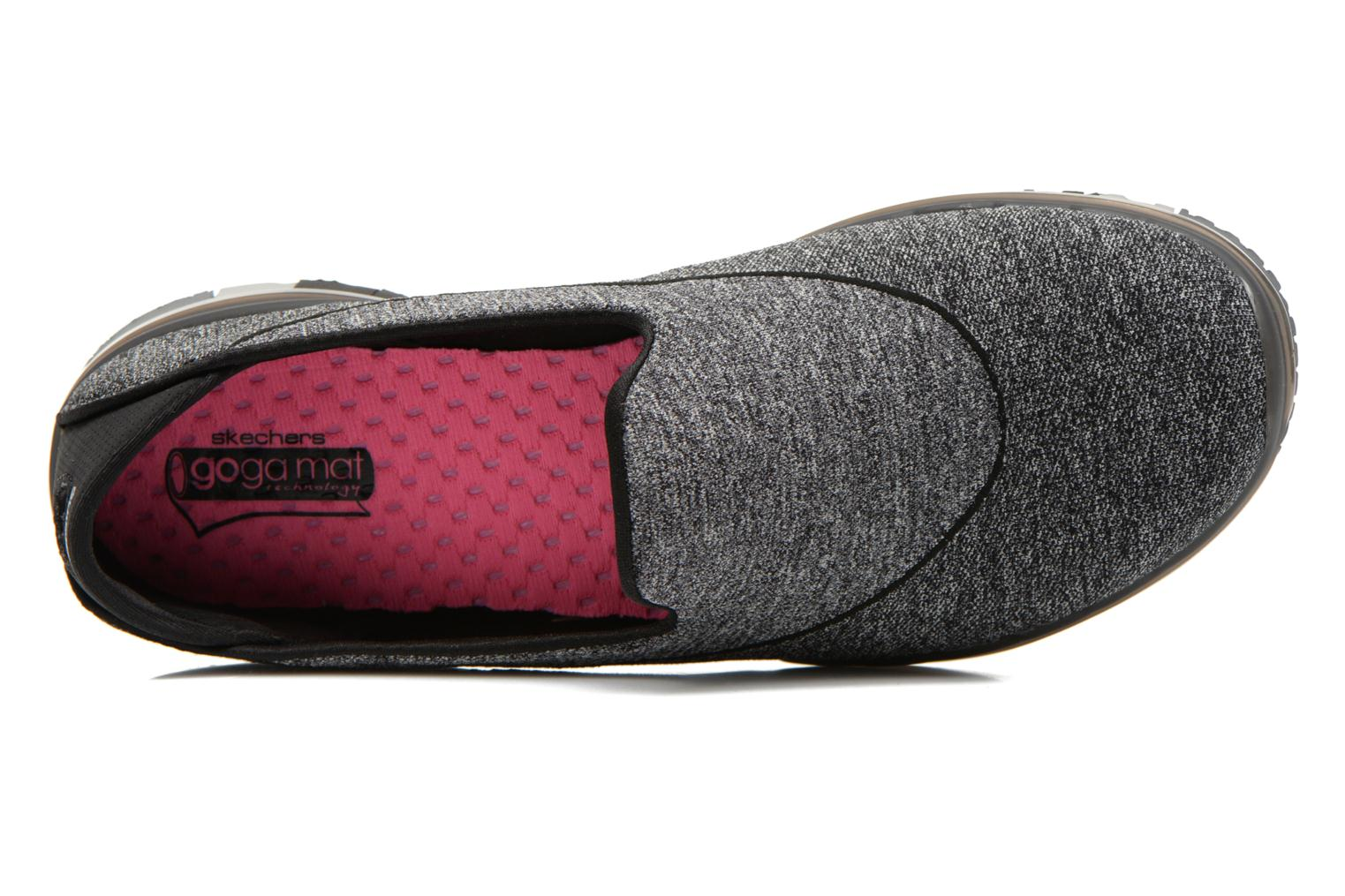 Sport shoes Skechers Go Flex 14010 Black view from the left