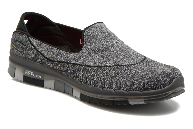 Sport shoes Skechers Go Flex 14010 Black detailed view/ Pair view