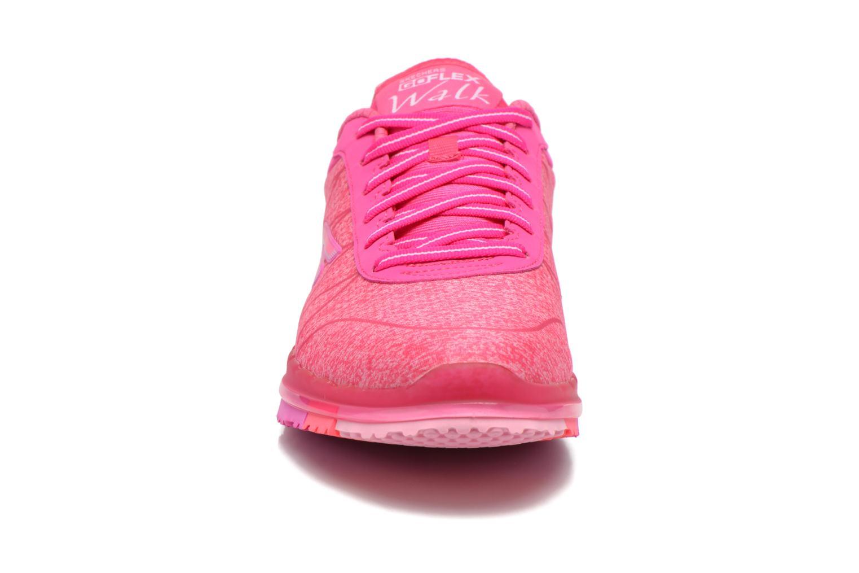 Chaussures de sport Skechers Go Flex - Ability 14011 Rose vue portées chaussures