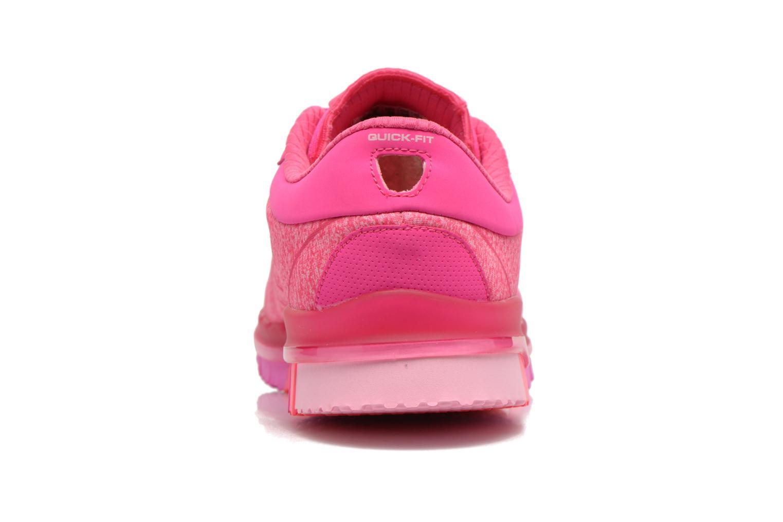 Zapatillas de deporte Skechers Go Flex - Ability 14011 Rosa vista lateral derecha