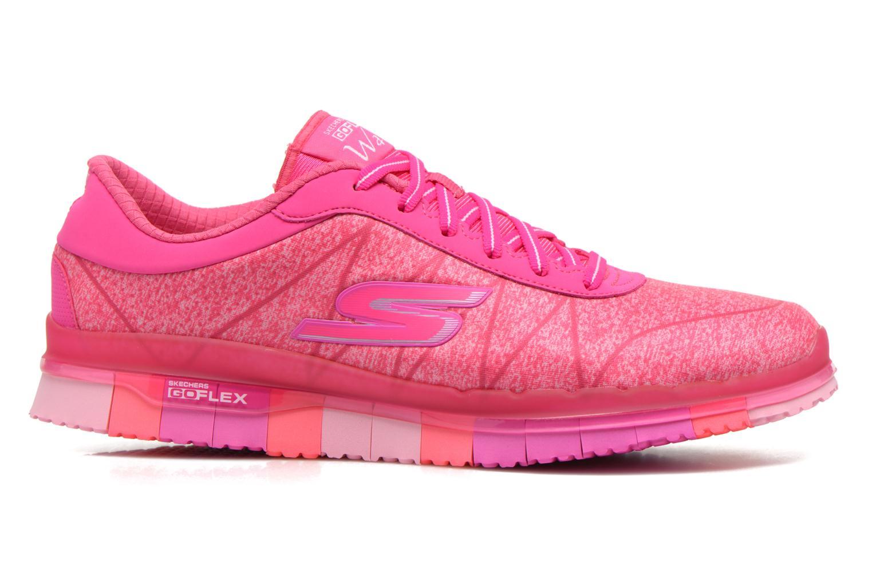 Chaussures de sport Skechers Go Flex - Ability 14011 Rose vue derrière