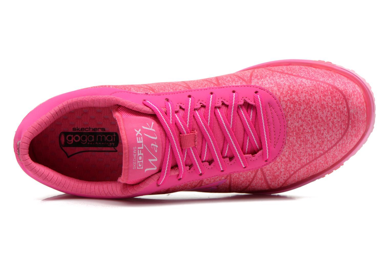Zapatillas de deporte Skechers Go Flex - Ability 14011 Rosa vista lateral izquierda