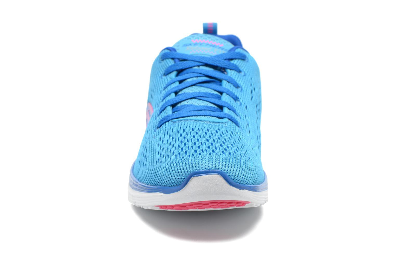 Sportskor Skechers Valeris-Backstage Pass 12221 Blå bild av skorna på