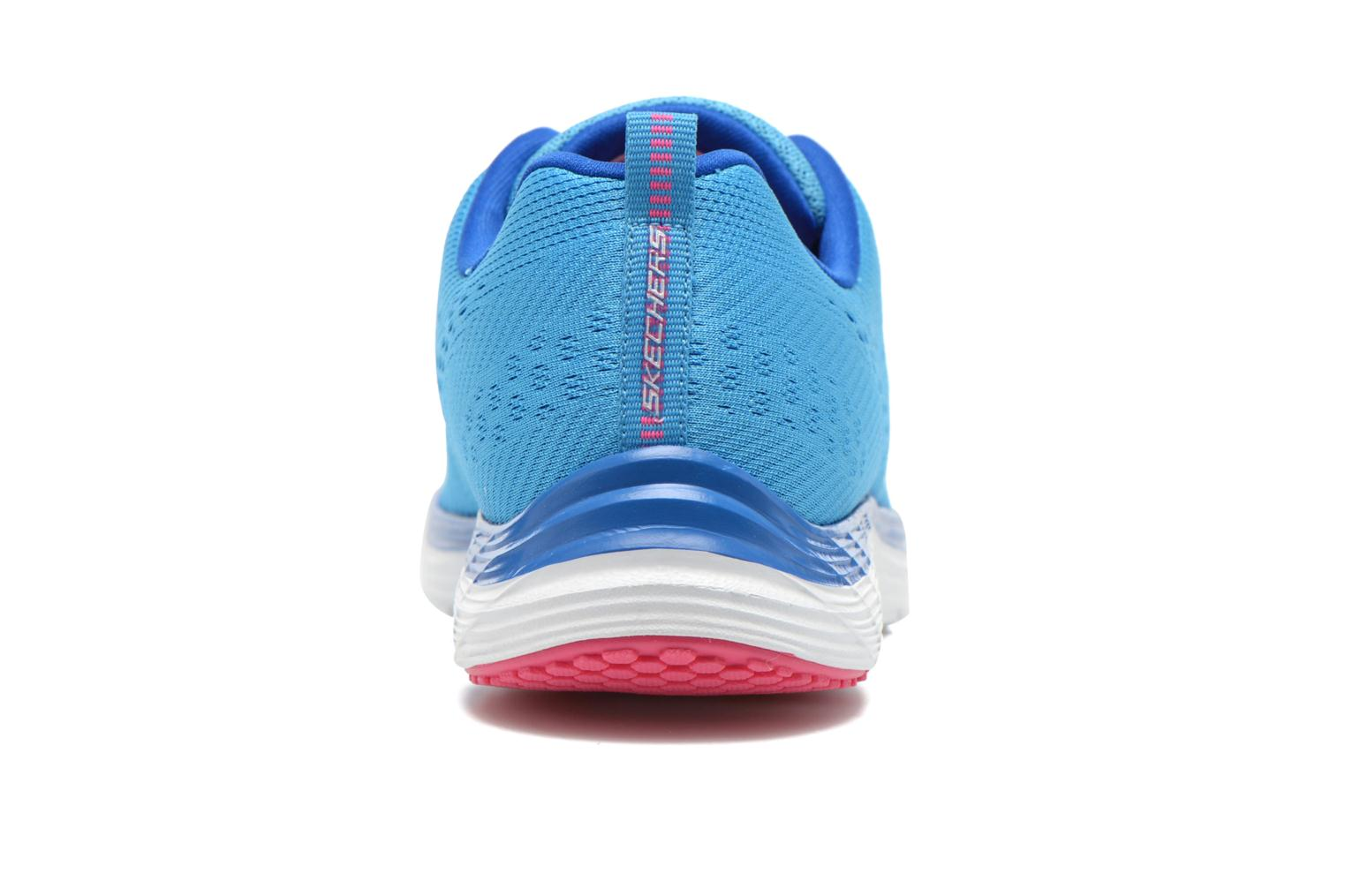 Sport shoes Skechers Valeris-Backstage Pass 12221 Blue view from the right