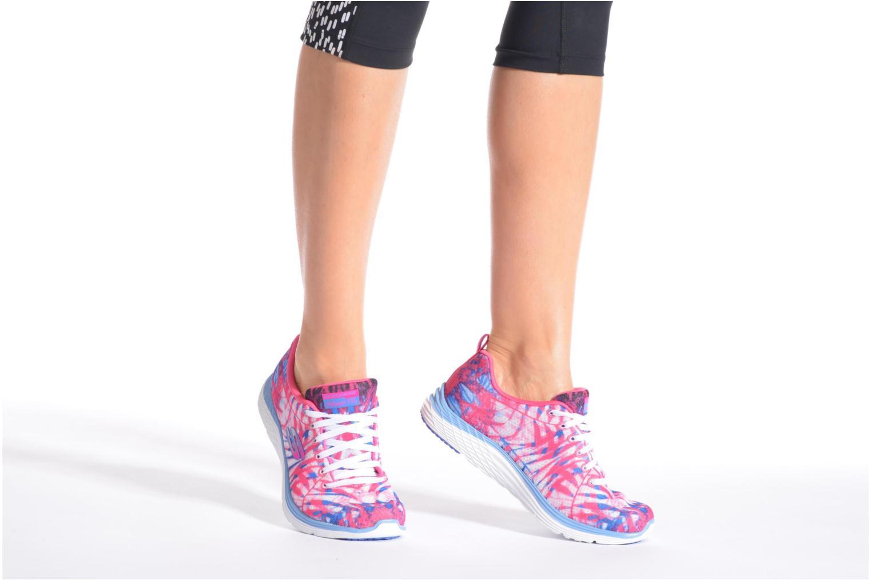 Sportschuhe Skechers Valeris - Mai Tai 12222 rosa ansicht von unten / tasche getragen