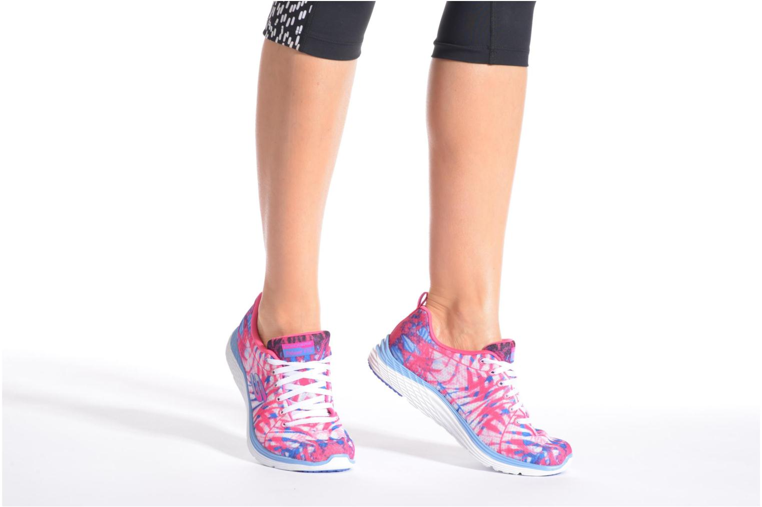 Sport shoes Skechers Valeris - Mai Tai 12222 Pink view from underneath / model view