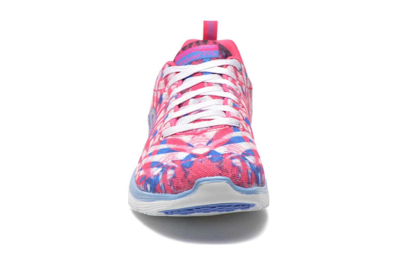 Chaussures de sport Skechers Valeris - Mai Tai 12222 Rose vue portées chaussures