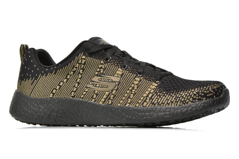 Sport shoes Skechers Burst - First Glimpse 12438 Black back view