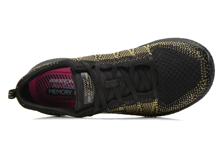 Scarpe sportive Skechers Burst - First Glimpse 12438 Nero immagine sinistra