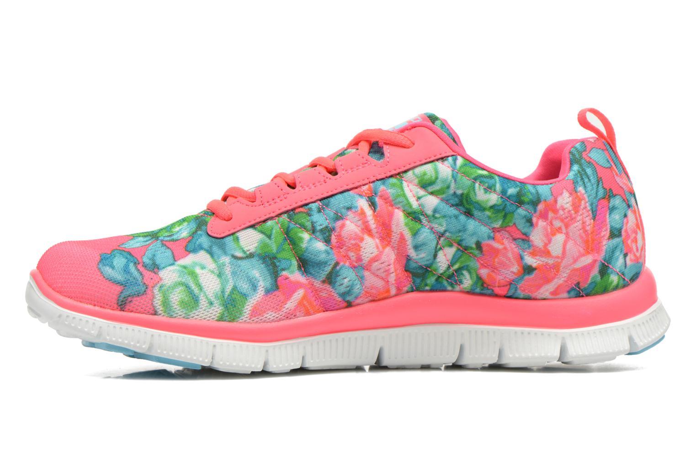 Scarpe sportive Skechers Flex Appeal- Wildflowers 12448 Rosa immagine frontale