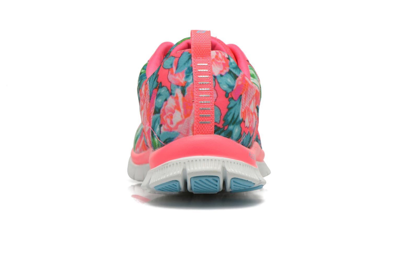 Chaussures de sport Skechers Flex Appeal- Wildflowers 12448 Rose vue droite