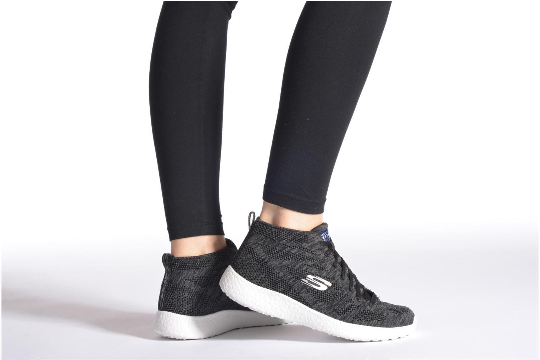 Chaussures de sport Skechers Burst- Divergent 12730 Gris vue bas / vue portée sac