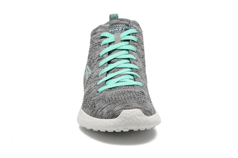 Chaussures de sport Skechers Burst- Divergent 12730 Gris vue portées chaussures